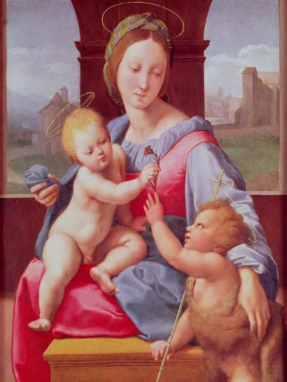 The Aldobrandini Madonna or the Garvagh Madonna, circa 1509-10-Raphael-Giclee Print