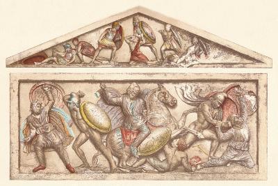 The Alexander Sarcophagus, c1901, (1907)--Giclee Print