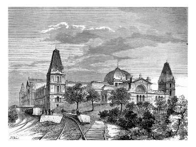 The Alexandra Palace, 1875--Giclee Print