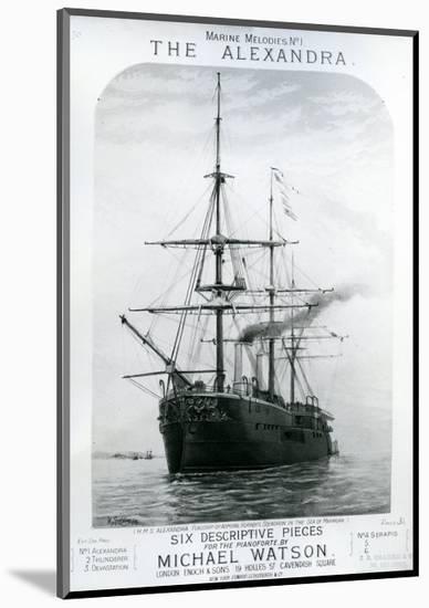The Alexandra--Mounted Giclee Print