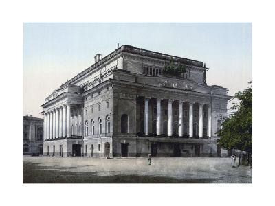 The Alexandrinsky Theatre, St Petersburg, Russia, C1890-C1905--Giclee Print