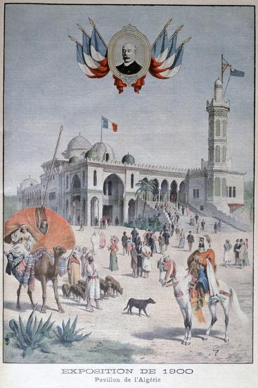 The Algerian Pavilion at the Universal Exhibition of 1900, Paris, 1900--Giclee Print