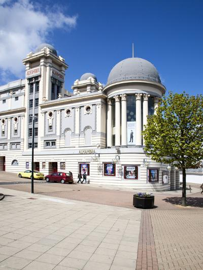 The Alhambra Theatre, City of Bradford, West Yorkshire, Yorkshire, England, United Kingdom, Europe-Mark Sunderland-Photographic Print