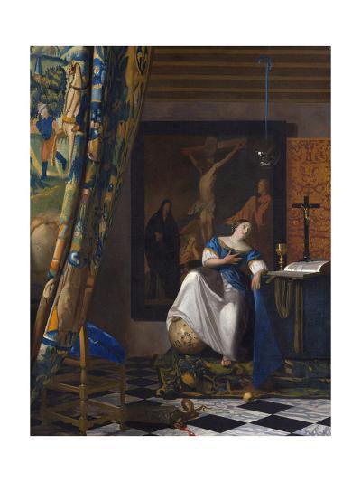 The Allegory of the Faith-Johannes Vermeer-Giclee Print