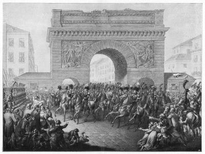 The Allies Enter Paris, 31 March 1814--Giclee Print