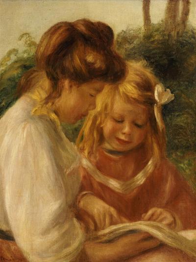 The Alphabet, Jean and Gabrielle-Pierre-Auguste Renoir-Giclee Print