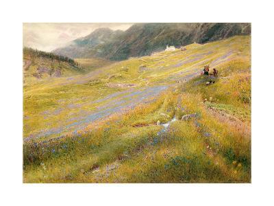 The Alpine Summer, 1874-Albert Goodwin-Giclee Print