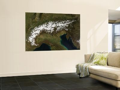 The Alps, March 13, 2007--Wall Mural