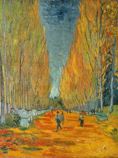 The Alyscamps, Arles, 1888-Vincent van Gogh-Giclee Print