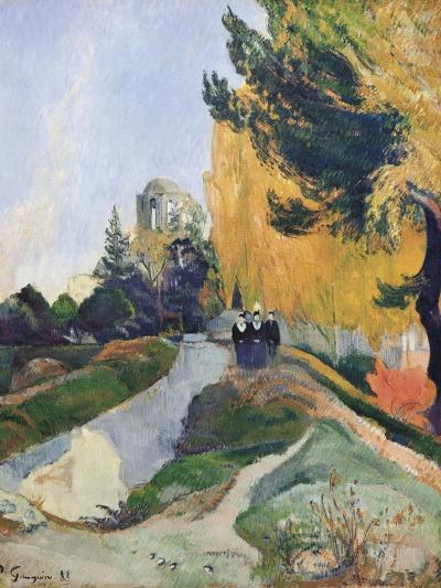 The Alyscamps, Arles-Paul Gauguin-Art Print