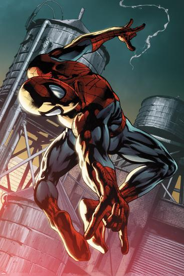 The Amazing Spider-Man #700.4 Cover: Spider-Man-Pasqual Ferry-Poster