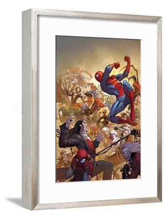 The Amazing Spider-Man No. 14 Cover, Featuring: Spider-Man, Morlun, Silk and More