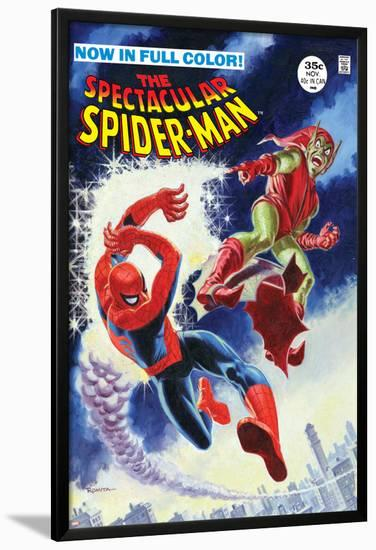 The Amazing Spider-Man No.2 Cover: Spider-Man Fighting--Lamina Framed Poster