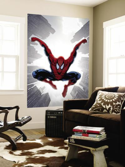 The Amazing Spider-Man No.552 Cover: Spider-Man-Phil Jimenez-Wall Mural