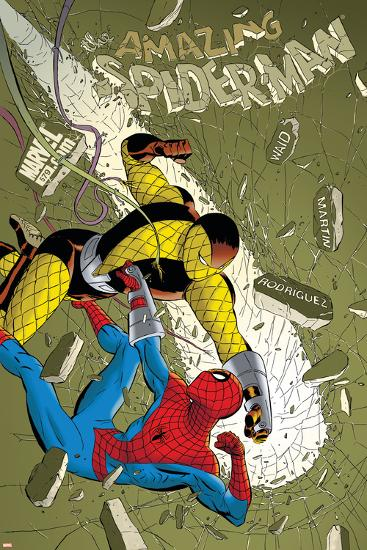 The Amazing Spider-Man No.579 Cover: Spider-Man and Shocker-Marcos Martin-Art Print