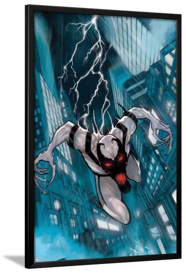 The Amazing Spider-Man Presents: Anti-Venom - New Ways to Live No.1 Cover: Anti-Venom--Lamina Framed Poster