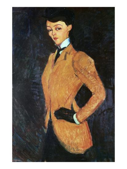 The Amazon, 1909-Amedeo Modigliani-Giclee Print