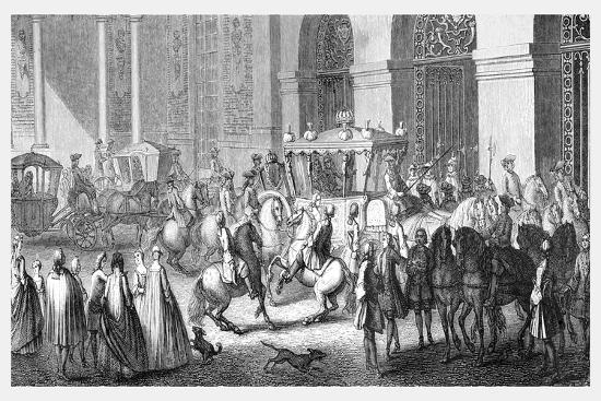 The Ambassador's Reception at Versailles-Parrocel-Giclee Print