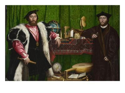 The Ambassadors-Hans Holbein the Younger-Art Print