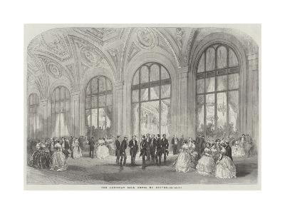 The American Ball, Hotel Du Louvre--Giclee Print