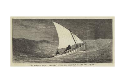 The American Boat, Nautilus, Which Has Recently Crossed the Atlantic--Giclee Print