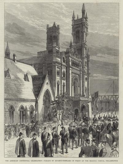 The American Centennial Celebration--Giclee Print