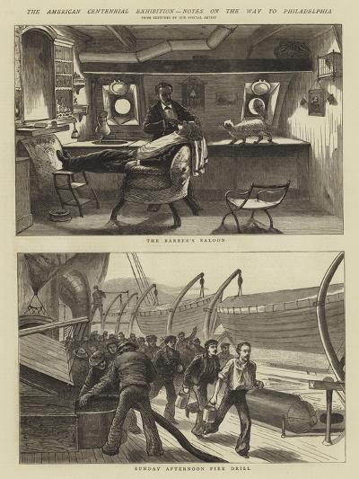 The American Centennial Exhibition, Notes on the Way to Philadelphia--Giclee Print