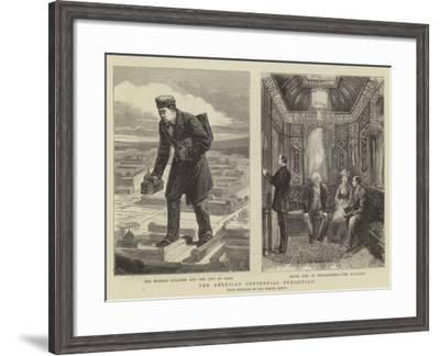 The American Centennial Exhibition-Walter Jenks Morgan-Framed Giclee Print