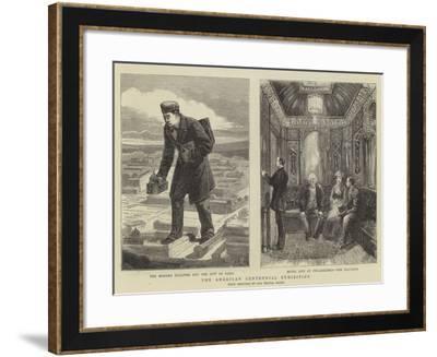 The American Centennial Exhibition-Walter Jenks Morgan-Framed Giclee Print