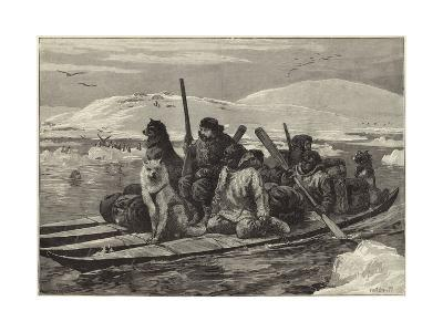The American Franklin Search Expedition--Giclee Print
