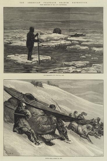 The American Franklin Search Expedition-Frank Dadd-Giclee Print