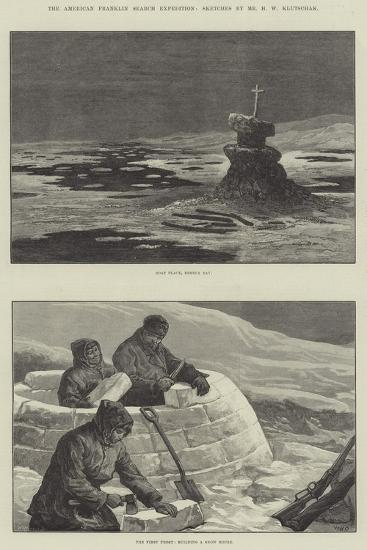 The American Franklin Search Expedition-William Heysham Overend-Giclee Print