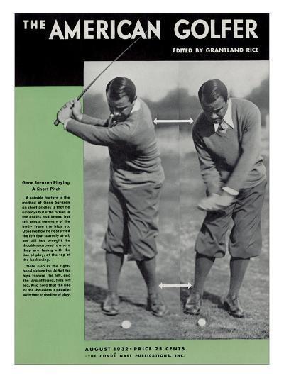 The American Golfer August 1932--Premium Giclee Print