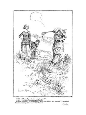 The American Golfer Cartoon February 9, 1924