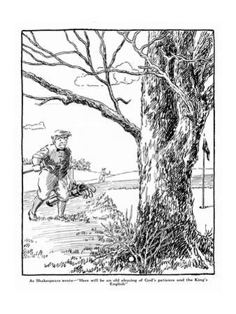 The American Golfer Cartoon May 17, 1924,