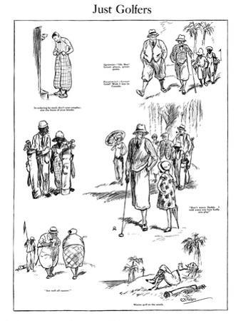 The American Golfer Cartoon November 29, 1924