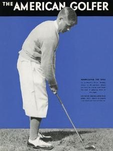 The American Golfer Cover - April 1931