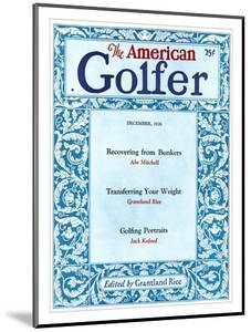 The American Golfer December 1926