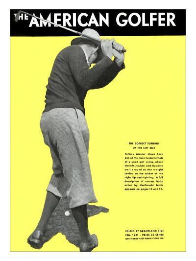 The American Golfer February 1931--Premium Giclee Print