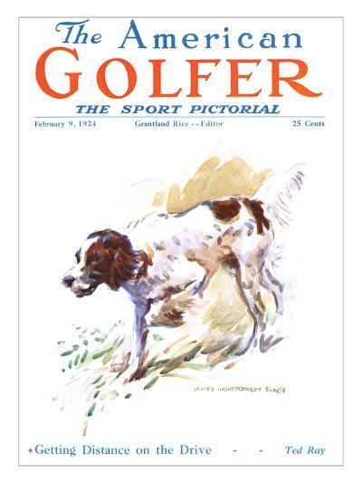 The American Golfer February 9, 1924-James Montgomery Flagg-Premium Giclee Print