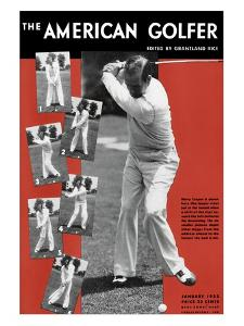 The American Golfer January 1933