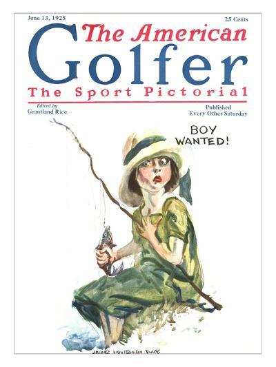 The American Golfer June 13, 1925-James Montgomery Flagg-Premium Giclee Print