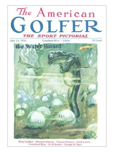 The American Golfer June 14, 1924-James Montgomery Flagg-Premium Giclee Print