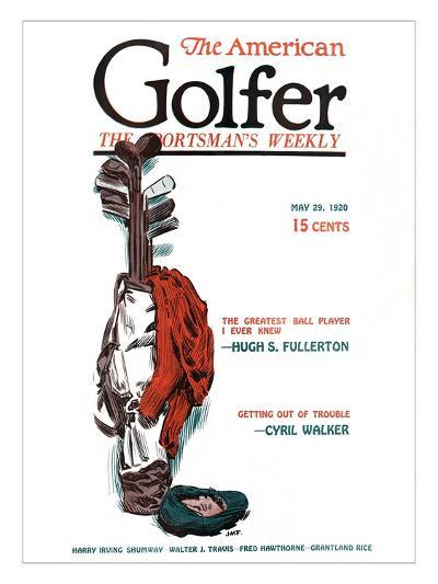 The American Golfer May 29, 1920-James Montgomery Flagg-Premium Giclee Print