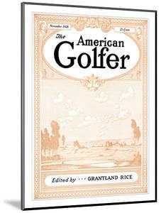 The American Golfer November 1928