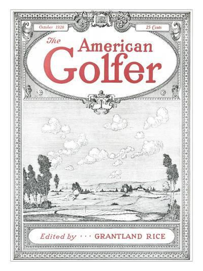 The American Golfer October 1928--Premium Giclee Print