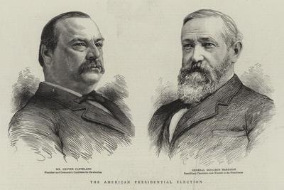 The American Presidental Election--Giclee Print
