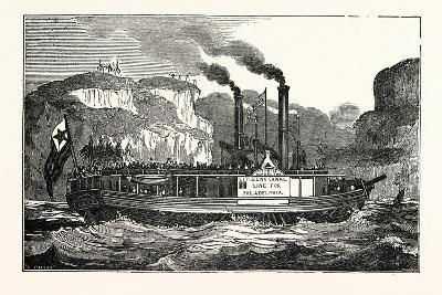 The American Steam Vessel, the Carroll of Carrolton, USA, America--Giclee Print