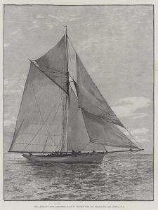 The American Yacht Volunteer, Built to Compete with the Thistle for the America Cup