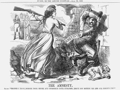 The Amnesty, 1863-John Tenniel-Giclee Print